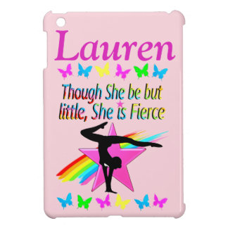 FIERCE GYMNAST PERSONALIZED IPAD CASE