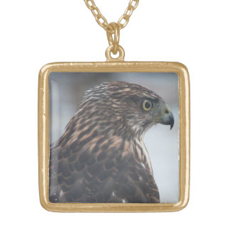Fierce Hawk Necklace
