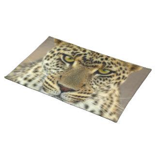 Fierce Leopard Cloth Place Mat
