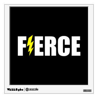 Fierce Lightening Wall Sticker