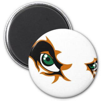 Fierce Lion Eyes Fridge Magnet