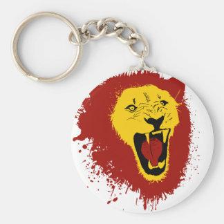 Fierce Lion Keychains