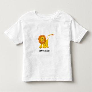 Fierce Lion with Customizable Text T Shirt