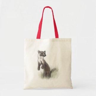 Fierce Little Pine Marten Tote Bag