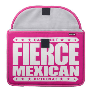 FIERCE MEXICAN - A Fearless Ancient Mayan Warrior MacBook Pro Sleeve