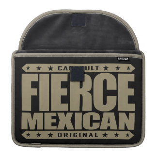 FIERCE MEXICAN - A Fearless Ancient Mayan Warrior MacBook Pro Sleeves