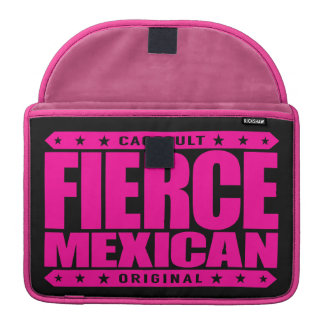 FIERCE MEXICAN - A Fearless Ancient Mayan Warrior Sleeve For MacBooks