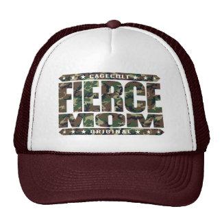 FIERCE MOM - I'm Fearless Domestic Warrior Goddess Trucker Hat