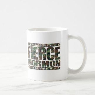 FIERCE MORMON - Fearless Latter-day Saint Member Classic White Coffee Mug