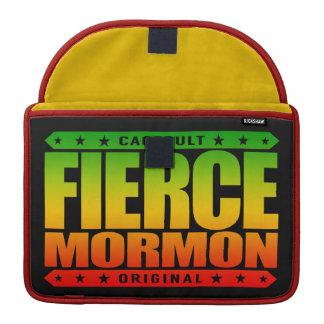 FIERCE MORMON - Fearless Latter-day Saint Member MacBook Pro Sleeve