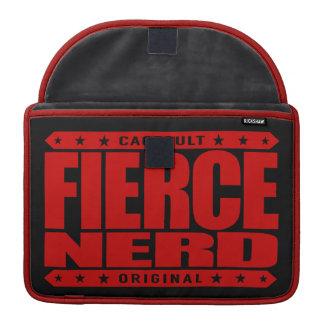 FIERCE NERD - I Am Science-Proven Fearless Primate MacBook Pro Sleeve