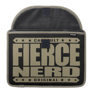 FIERCE NERD - I Am Science-Proven Fearless Primate Sleeves For MacBooks