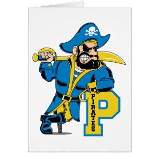 Fierce Pirate Captain Card