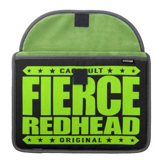 FIERCE REDHEAD - I'm Fearless Fiery Phoenix Rising Sleeve For MacBook Pro
