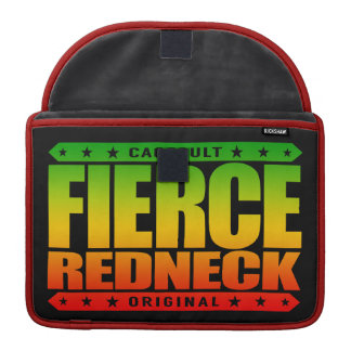 FIERCE REDNECK - I'm Fearless Conservative Warrior MacBook Pro Sleeves