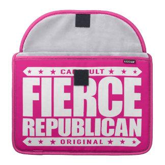 FIERCE REPUBLICAN - Fearless Conservative Warrior Sleeve For MacBooks