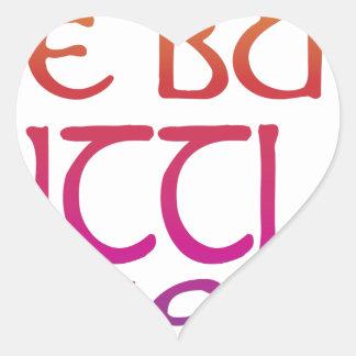 Fierce Heart Sticker
