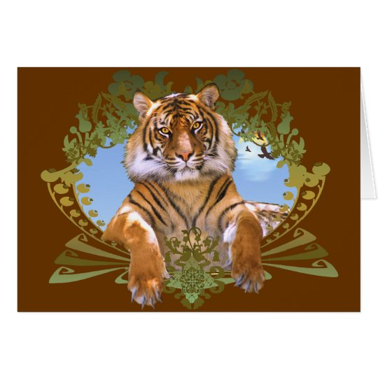 Fierce Tiger Crest Endangered Card