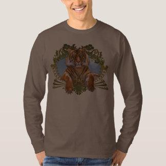 Fierce Tiger Crest Endangered T Shirt