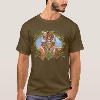 Fierce Tiger Crest Endangered T-Shirt