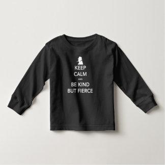 Fierce Toddler Dark Long Sleeve T-Shirt