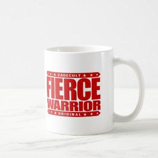 FIERCE WARRIOR - Fearless in Love, Life, Business Coffee Mug