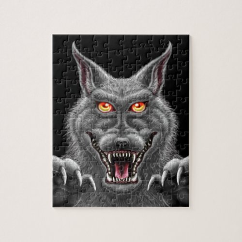 Fierce Werewolf Jigsaw Puzzle