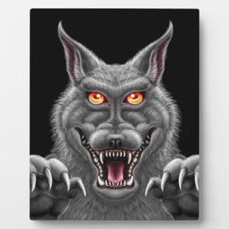 Fierce Werewolf Plaque