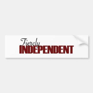 Fiercly Independent Bumper Sticker