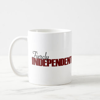 Fiercly Independent Coffee Mug