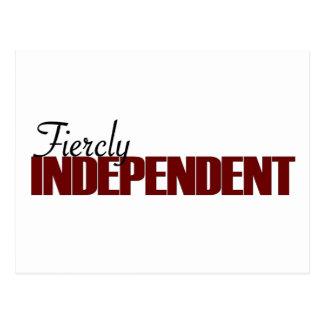 Fiercly Independent Postcard