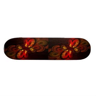 Fieri Abstract Fractal Art Skate Boards
