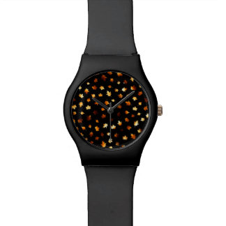 Fiery Autumn Leaves Watches