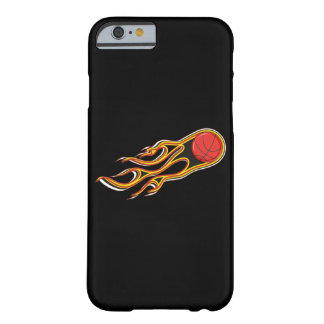 Fiery Basketball with Comet Tail Logo Barely There iPhone 6 Case