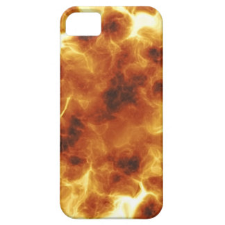 Fiery burning inferno explosion iPhone 5 case