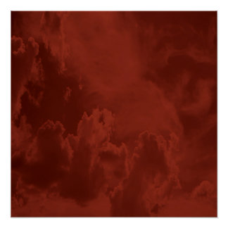 Fiery clouds... poster