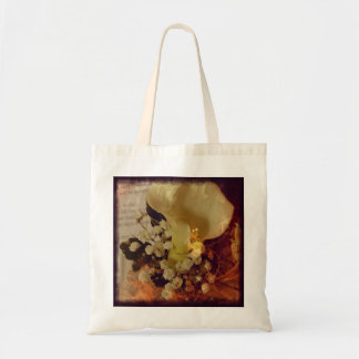 Fiery Corsage Tote Bag