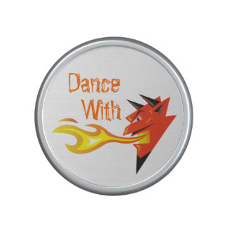 Fiery Devil's Head_Dance With Speaker