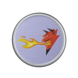 Fiery Devil's Head_En Fuego Speaker