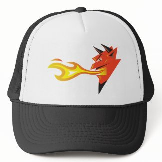 Fiery Devil's Head hat