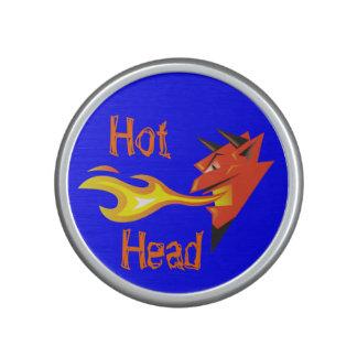 Fiery Devil's Head_Hot Head Speaker