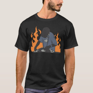 Fiery Dj T-Shirt