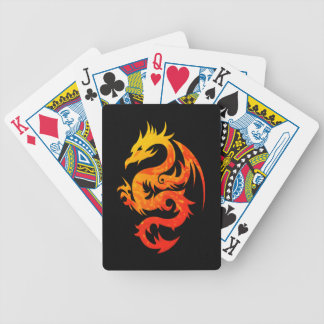FIERY DRAGON BICYCLE PLAYING CARDS