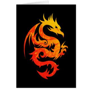 FIERY DRAGON CARD
