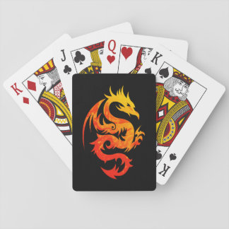 FIERY DRAGON DECK OF CARDS