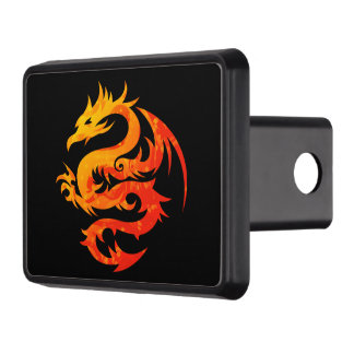 FIERY DRAGON TRAILER HITCH COVER