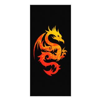 FIERY DRAGON RACK CARD