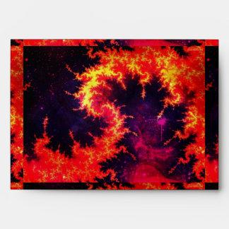 Fiery Envelope