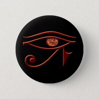 Fiery Eye Of Horus Button