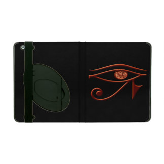 Fiery Eye Of Horus iPad Case